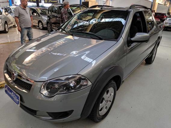 Fiat Strada Treking Cd 1.6 Cinza 2016 (3 Portas Completa)