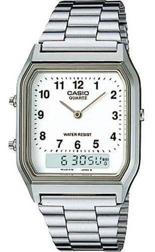 Relógio Casio Vintage Masculino Aq230a-7bmq Original C/caixa