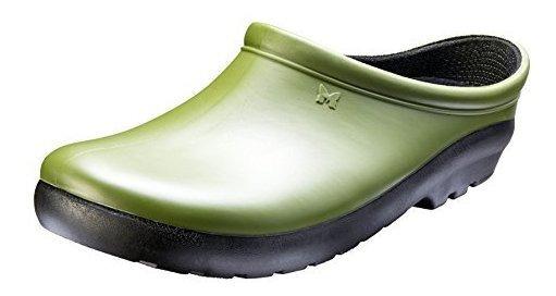 Zapatos Tipo Suecos Sloggers, Para Mujer, Verde Cactus.