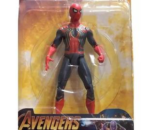 Muñeco Articulado Iron Spider Spider Man Avengers Marvel