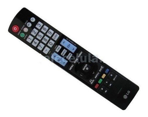 Controle Remoto Universal Para Tv Led Lg Akb 72914212