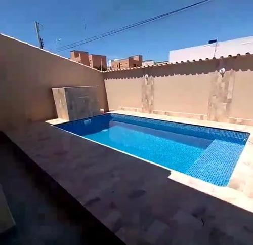 Casa Com Piscina À Venda A 1000 M Do Mar Em Itanhaém. 1287