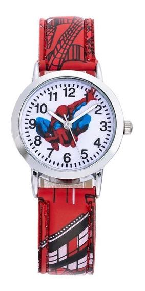 Reloj Hombre Araña Spiderman Envío Gratis