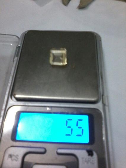Citrino Lapidação Quadrada 10.5mmx10.5mm 5.5 Ct - Cod -- 02