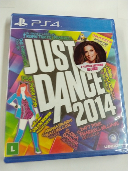 Just Dance 2014 Midia Fisica Ps4 Lacrado