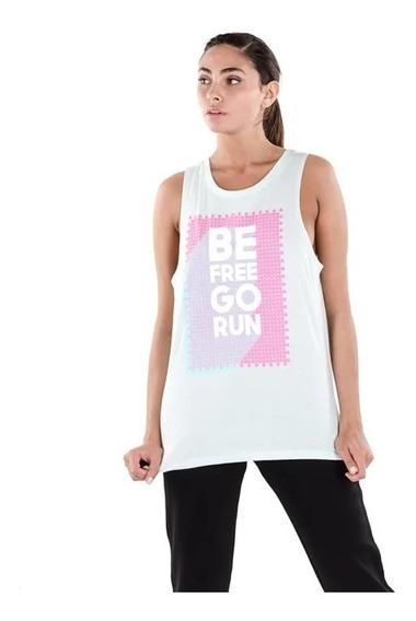 Musculosa - Be Free Go Run - Topper - Remera