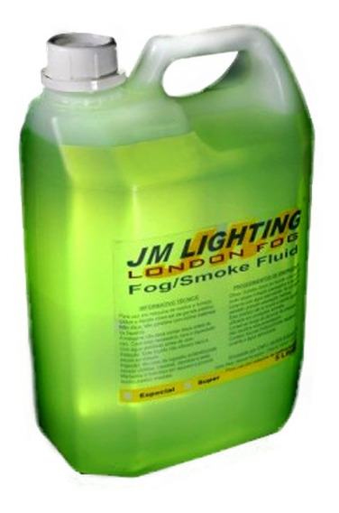 Líquido Para Máquina De Fumaça Jm Lighting (5l-neutro)