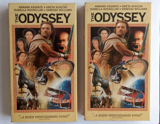 La Odisea (miniserie De Tv) Vhs Completa En 2 Partes Ingles
