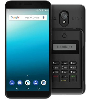 Smartphone E Maquininha Cielo Quantum Lio+ Qc84
