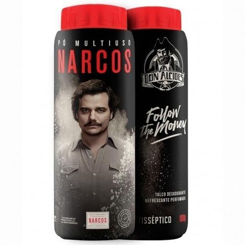 Talco Antisséptico Desodorante Refrescante Perfumado 100g