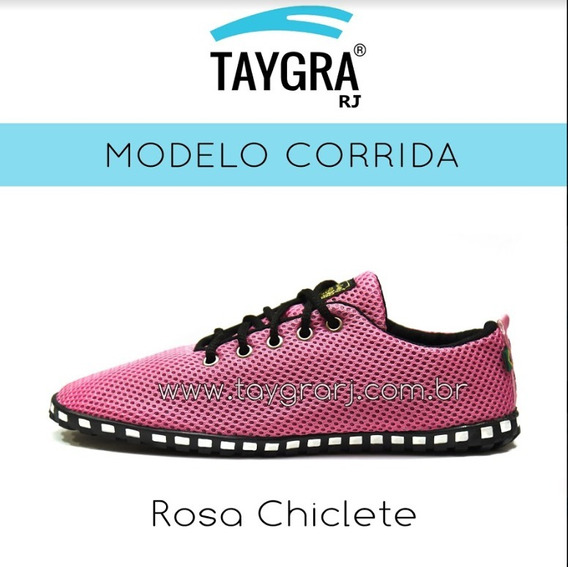 Tenis Modelo Comfort Corrida Rosa Chiclete