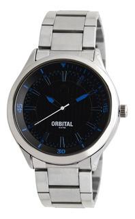 Reloj Pulsera Orbital Hombre Ec3673 Acero 3atm Liniers