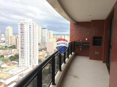 Apartamento Com 3 Dormitórios, 110 M² - Batista Campos - Belém/pa - Ap0411