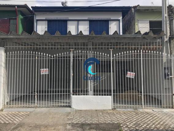 Casa Com 3 Dormitórios Para Alugar, 95 M² Por R$ 1.800/mês - Centro - São José Dos Campos/sp - Ca0678
