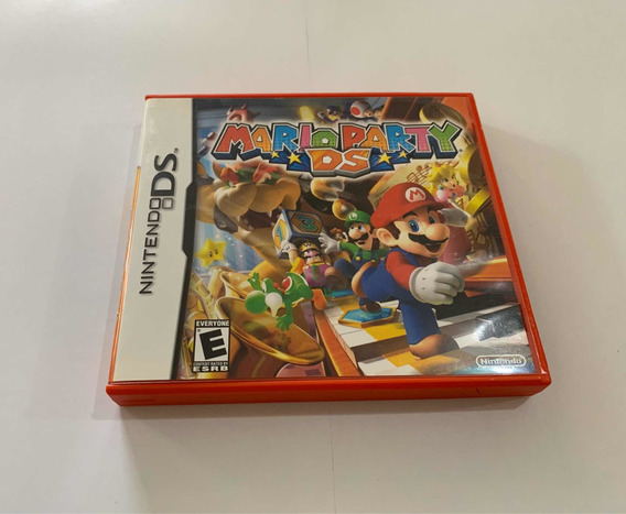 Mario Party Ds Nintendo Jogo Original Dsi 3ds Game Top