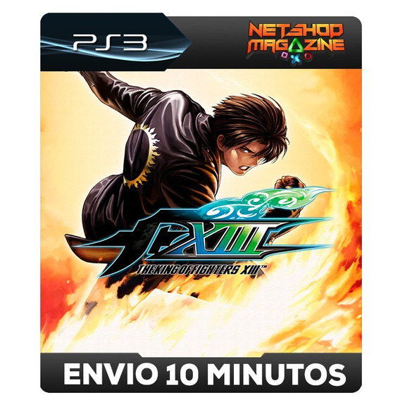 The King Of Fighters Xiii - Psn Ps3 - Envio Imediato