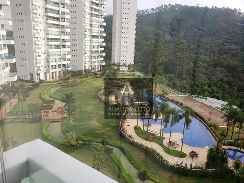Magnifico Apartamento De Alto Padrão No Condomínio The Penthouses Tamboré - Confira! - Ap2450