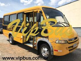 Micro Ônibus 30 Lugares Escolar 10/10 Financia 100% Vipbus