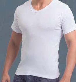 Camiseta Ribb Hombre M/corta Escorte En V/ Mallbits