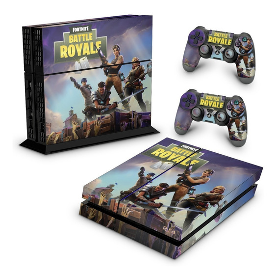 Skin Ps4 Fat Adesivo Playstation 4 Fortnite Battle Royale
