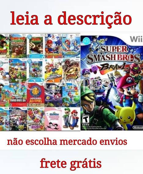 100 Jogos De Nintendo Wii +destrave Para Hd Externo/pendrive