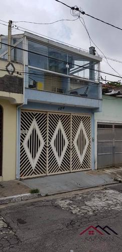 Casa  Geminada No Alto Do Ipiranga - 4049