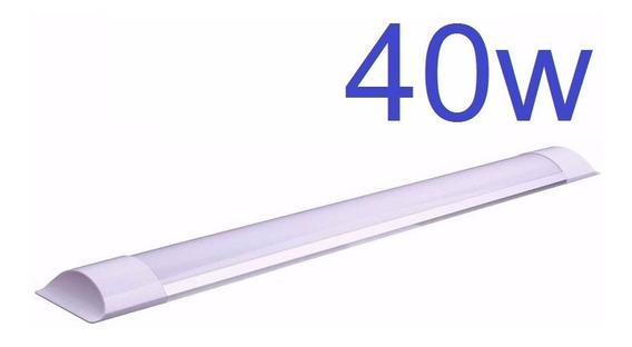 4 Slim 120cm Fria + 2 Plafon 18w 3000k + 1 Plafon 25w 3000k