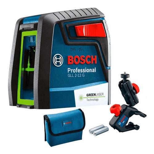 Imagem 1 de 9 de Nível A Laser Verde Com 2 Linhas  Gll 2-12 G Bosch