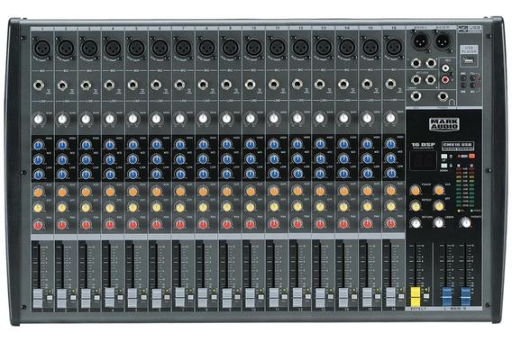 Mesa Som 16 Canais - Mark Áudio Cmx 16 Usb C/efeitos