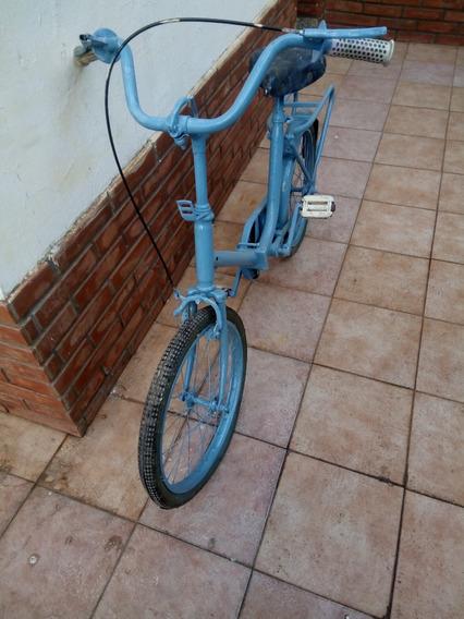 Bicicleta Mini Celeste