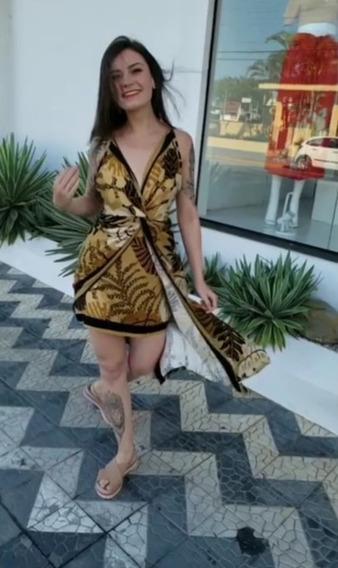 Vestido Cropped Lenço F