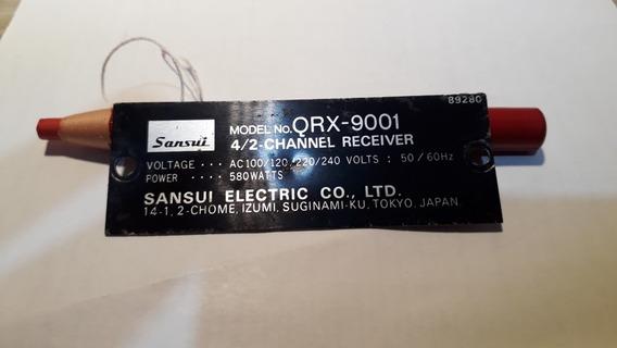 Placa Sansui Qrx 9001