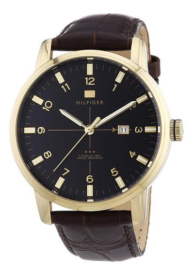 Reloj Tommy Hilfiger Extensible Cuero Azul