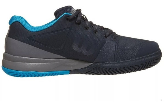 Tenis Wilson Rush Pro 2.5 Alto Rendimiento Azul/negro