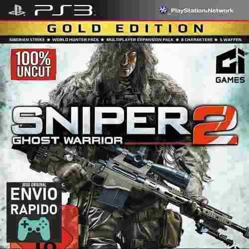 Sniper Ghost Warrior 2 Gold Todas As Dlcs Jogos Ps3 Original