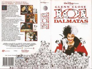 101 Dalmatas Vhs Walt Disney Glenn Close Jeff Daniels