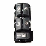 Botao Vidro Eletrico S10 Blazer Quadruplo Trava Gm 15151360