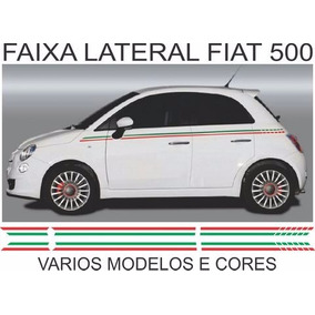 Faixa Adesivo Lateral Fiat 500 Varios Modelos
