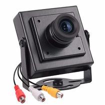 Câmera Veicular Frontal Cabo Rca Colorida Pronta Entrega