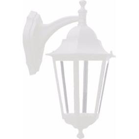 Arandela Taschibra De Parede Alumínio Branca Tlf27