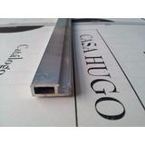 Perfil Mosquitero Canal 9 De Aluminio Natural X Tira
