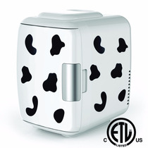 Frigo Bar Portable Marca Cooluli Manchas De Vaca