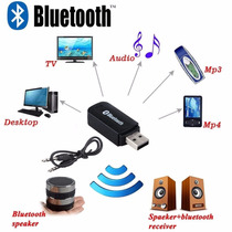Receptor Audio Sonido Bluetooth Aux 3.5 Mm Inalambrico