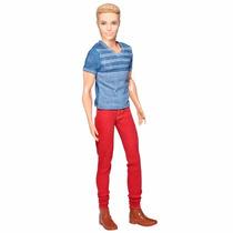 Barbie Ken Fashionistas 2015 Nº 01 - Calça Vermelha