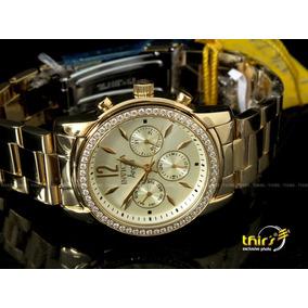 51a6145231d Relógio Com Zircônia - Relógio Invicta no Mercado Livre Brasil