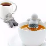 Infusor Te Hebras Mr Tea Colador Hombrecito Silicona
