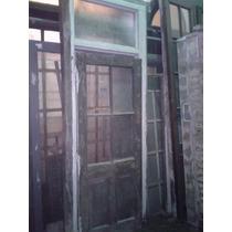 Puerta Antigua Cedro A Reciclar Oferta A $ 700 Grupodan
