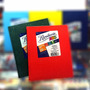 Cuaderno Abc T/d Forrado X 50 Hjs 5x4 V. Colores Mataderos