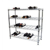 Estante Rack Para Botellas De Vino 4 Niveles Restaurant