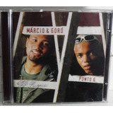 Cd Márcio & Goró Ponto G Original Funk Black Dance Pop Rock